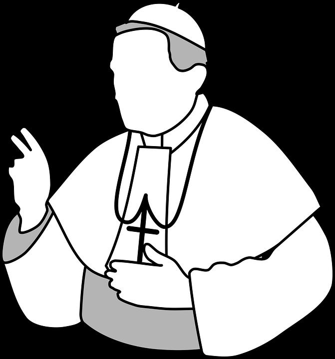 Pope Church God Faith Catholicism Pope Clip Art.