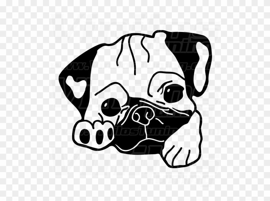 Pug Clipart.