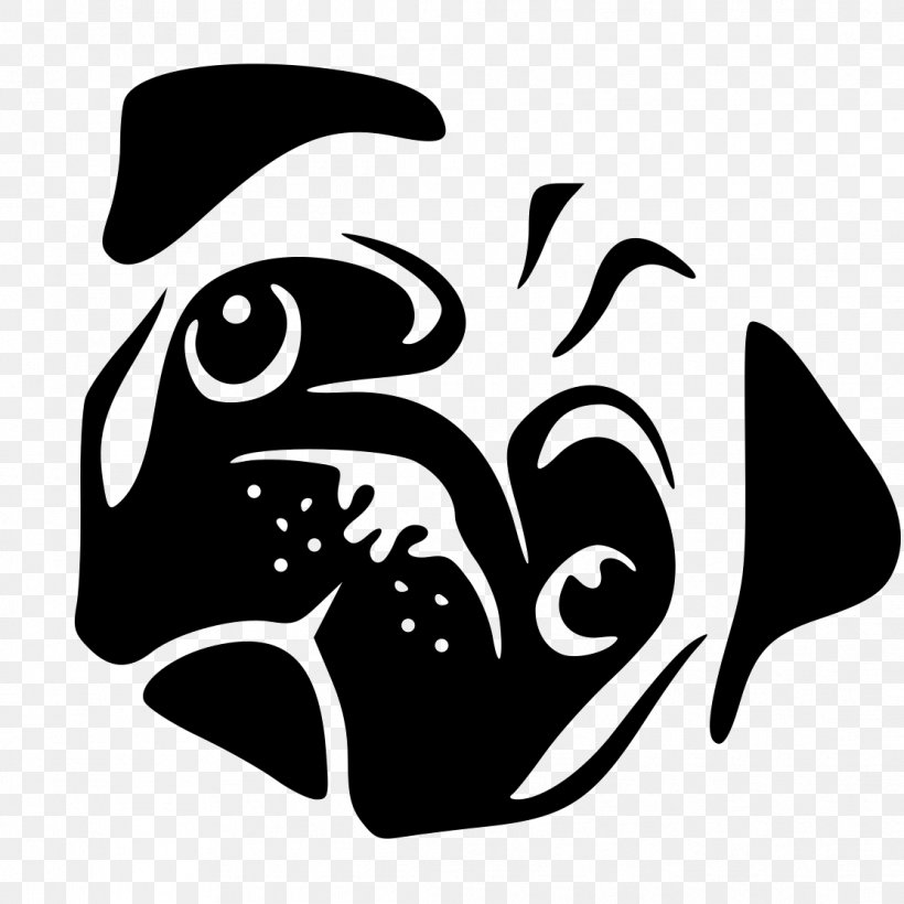 Pug Dachshund Boxer Clip Art, PNG, 1112x1112px, Pug, Black.