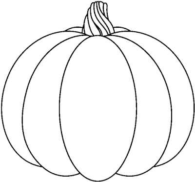 53 Pumpkin Black And White free clipart.