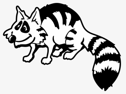 Free Raccoon Clip Art with No Background.
