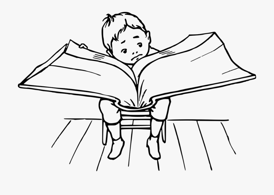 Book, Boy, Lecture, Reading.