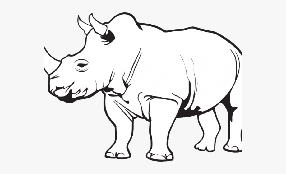 Rhino Clipart , Transparent Cartoon, Free Cliparts.