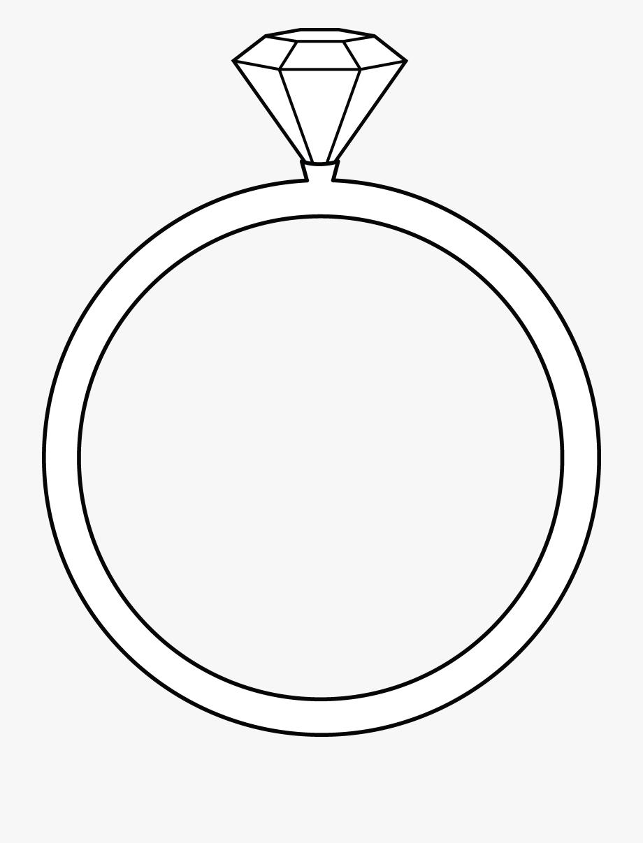 Wedding Rings Clip Art Black And White.