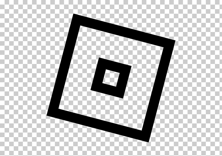 Roblox Computer Icons Black & White Logo, roblox shading PNG.