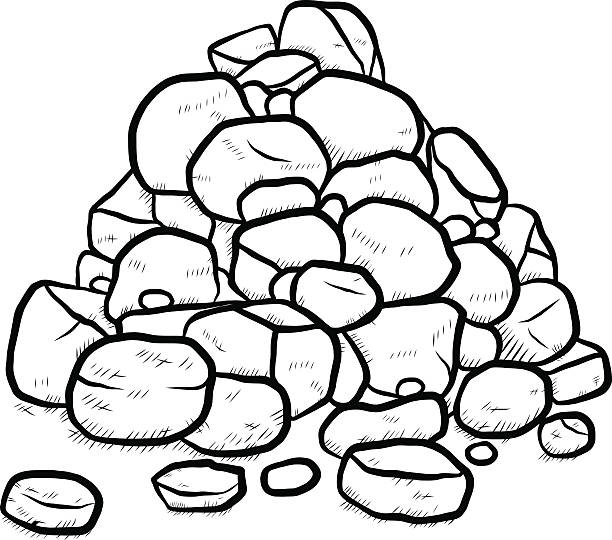 Rock black and white clipart 5 » Clipart Station.