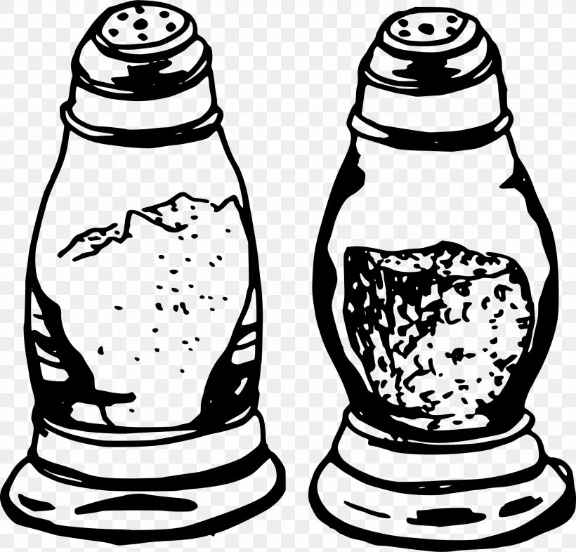 Salt And Pepper Shakers Black Pepper Capsicum Clip Art, PNG.
