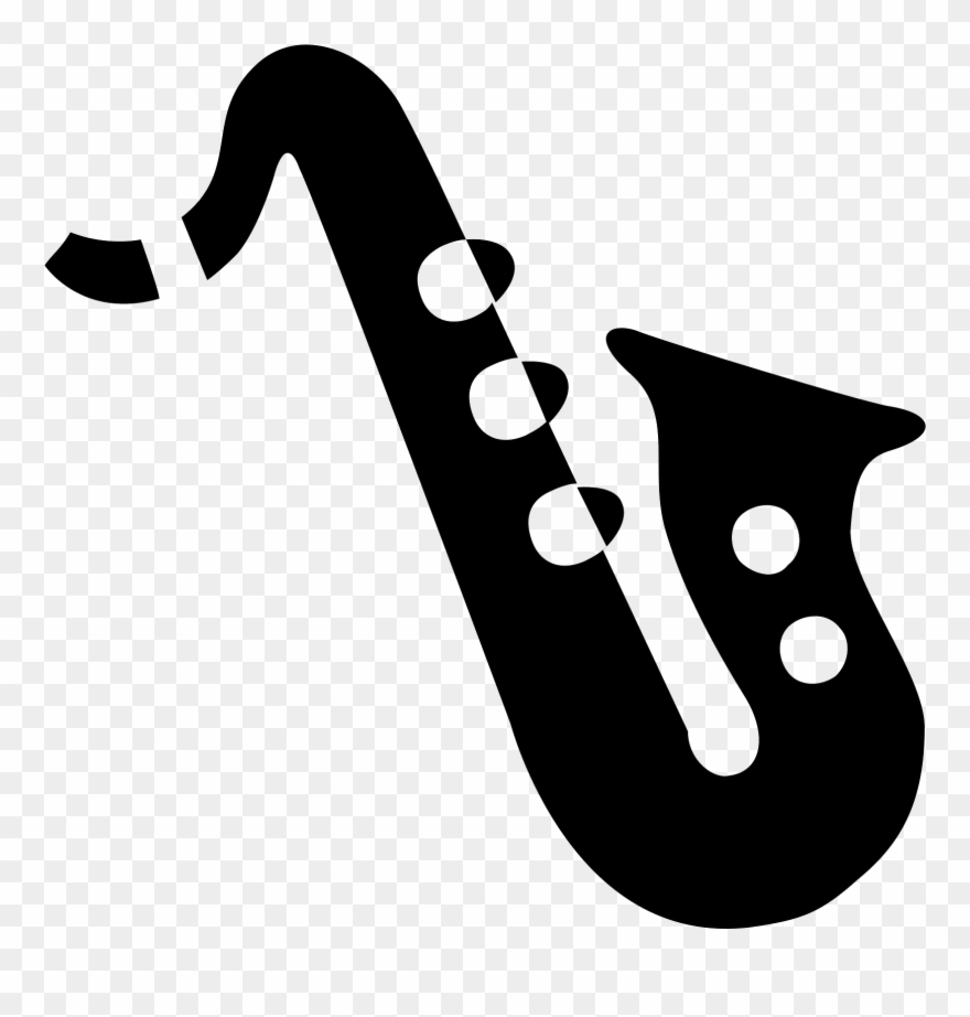 Collection Of Free Saxophone Vector Musician.