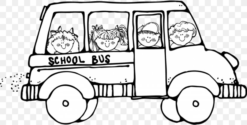 School Bus Black And White Clip Art, PNG, 1024x520px, Bus.