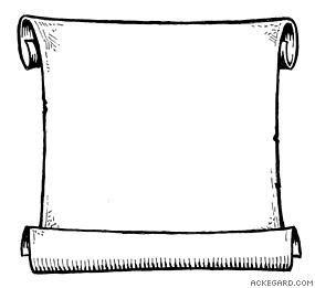 open scroll clip art Book Covers.