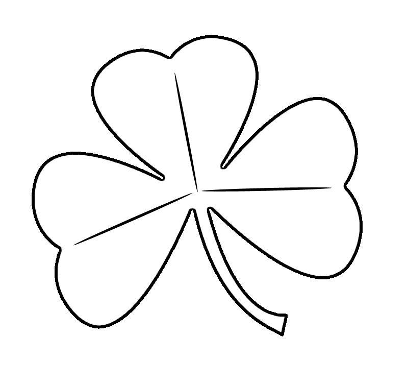 Free St. Patrick\'s Day Shamrocks Clip Art Images.