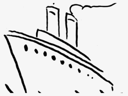 Free Sail Boat Black And White Clip Art with No Background.