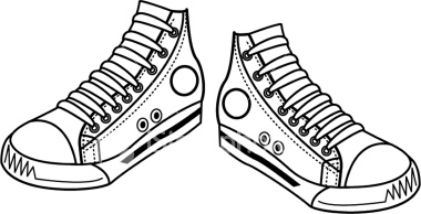 Free Black And White Shoes Clipart, Download Free Clip Art.