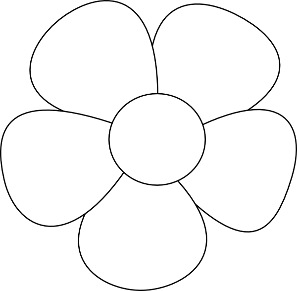 Simple Flower SVG Downloads.