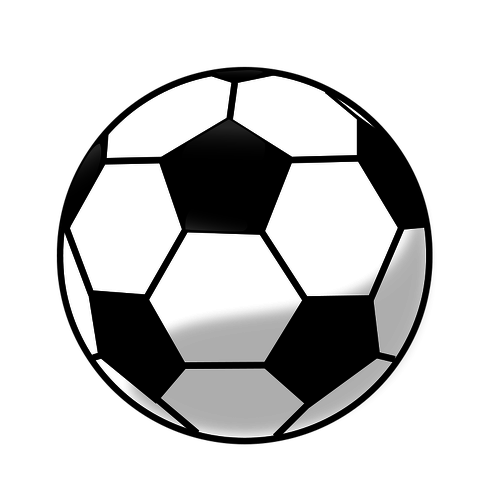Soccer ball vector clip art graphics.