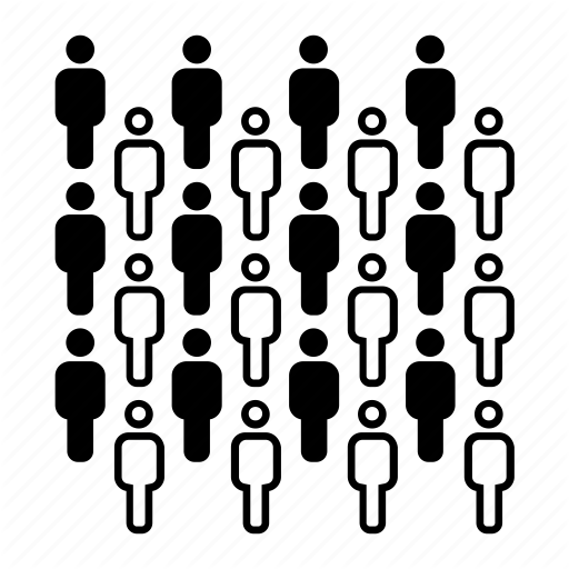 'people groups abstract patterns' by Eliricon.