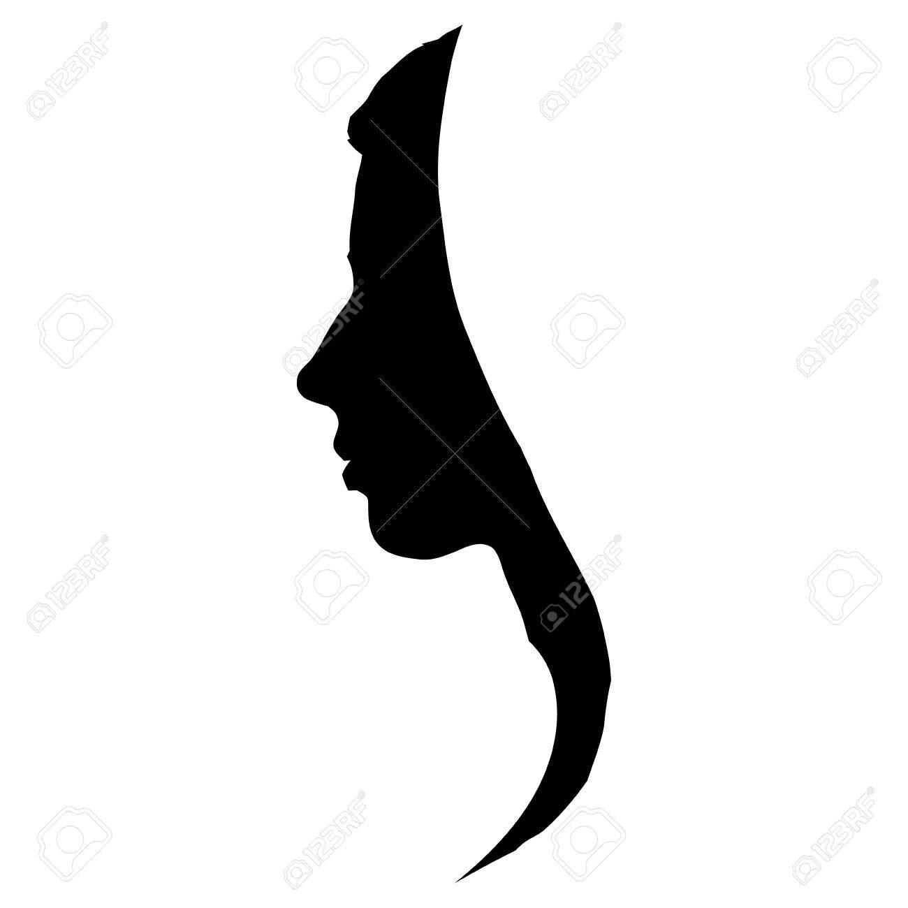 Black Female Silhouette Images.