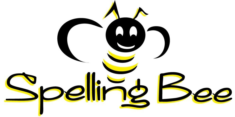 spelling bee clipart black and white.