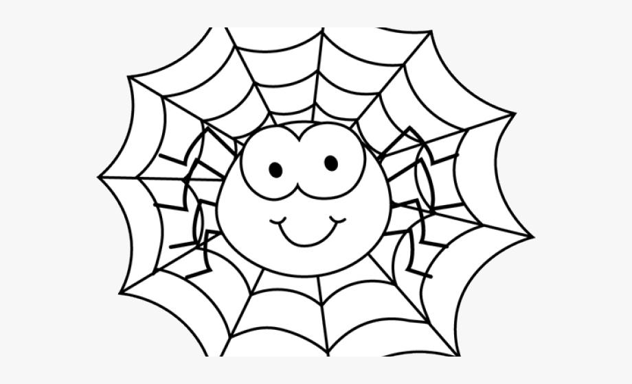 Spider Clipart Web.