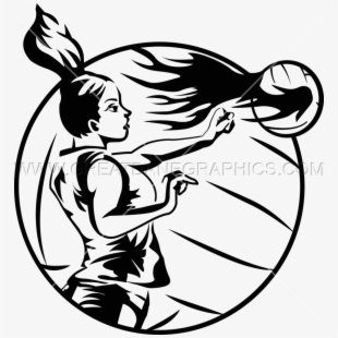 Png Free Library Volleyball Spike Clipart.