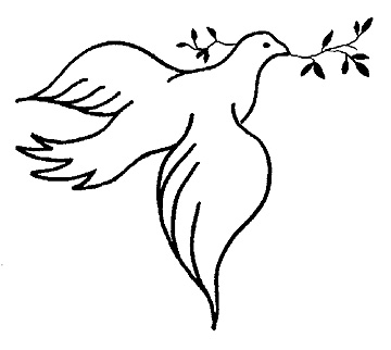 Free Holy Spirit Black And White, Download Free Clip Art.