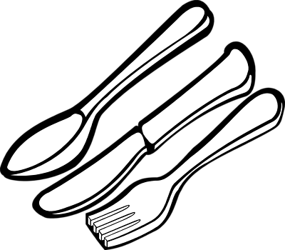 Free Spoon Clipart Black And White, Download Free Clip Art.