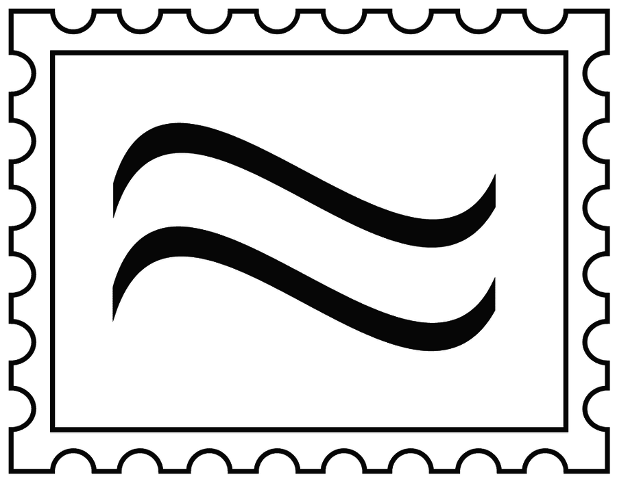 Free Stamp Clipart Black And White, Download Free Clip Art.