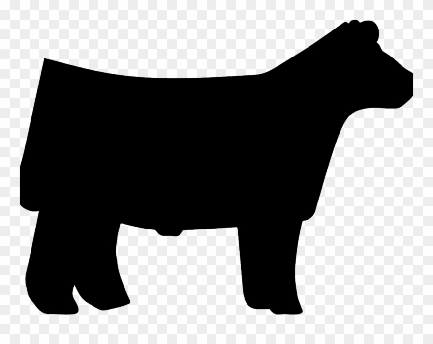 Market Steer Cliparts.