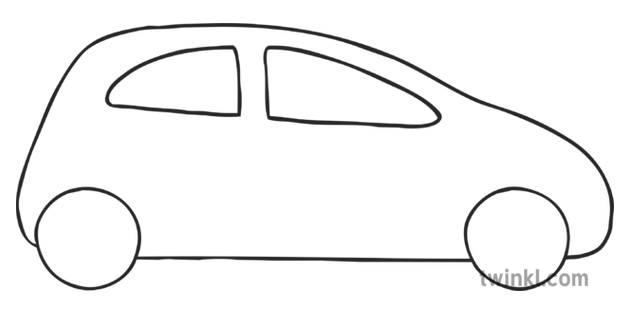 How To Draw A Car Step 3 Art and Design Vehicles KS1 Black.