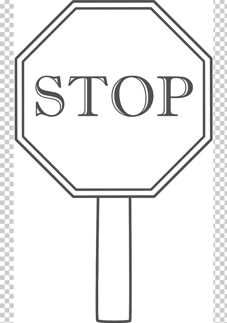 Stop Sign Black And White PNG, Clipart, Angle, Area, Black.