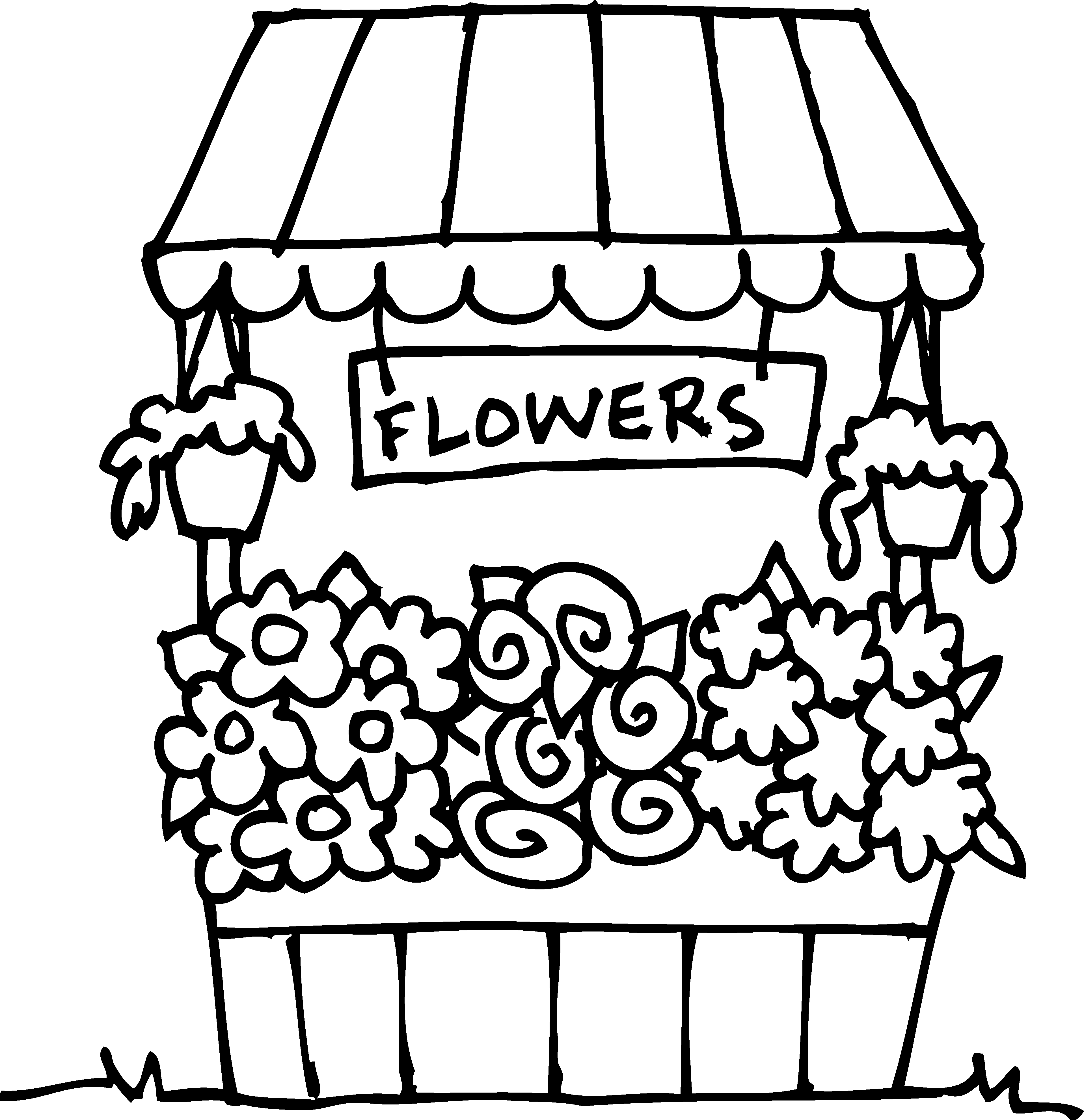 Free Store Clipart Black And White, Download Free Clip Art.