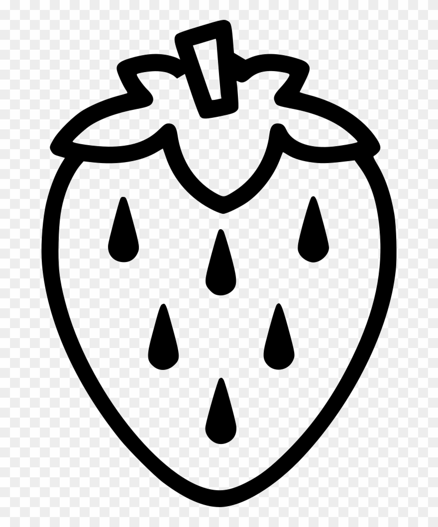 black and white clipart strawberry 10 free Cliparts ...
