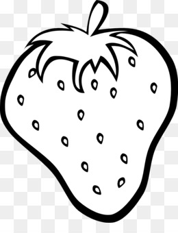 Strawberry Clipart Black And White Png.