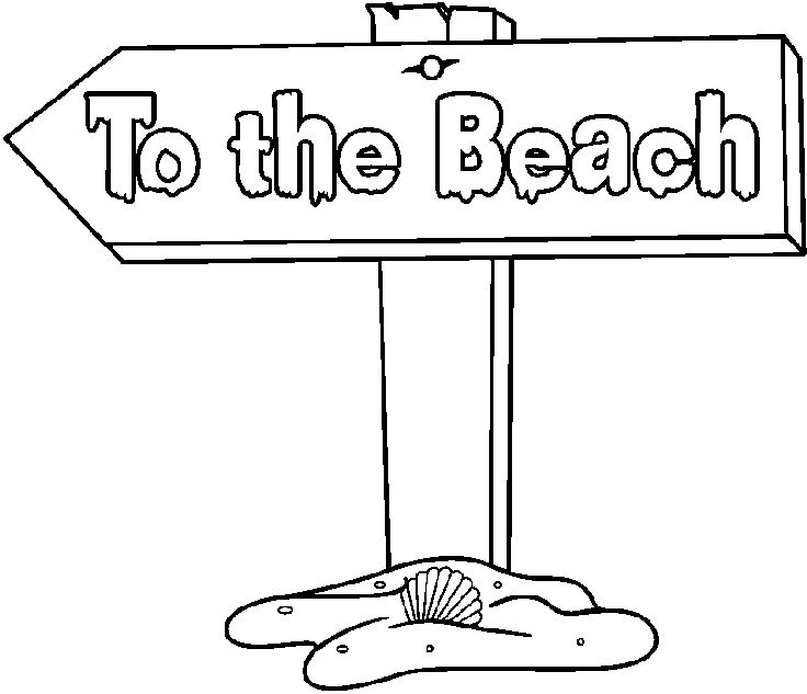 Summer Vacation Clip Art Black And White.