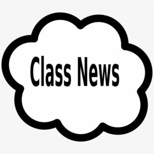 Class News Cloud Clip Art At Clker.