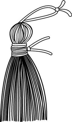 How to Make Tassels for Your Curtains.