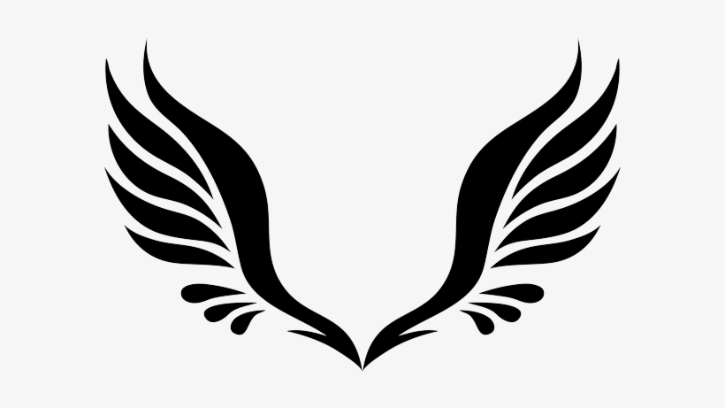 Angel Wings Png Clipart Svg Black And White Library.
