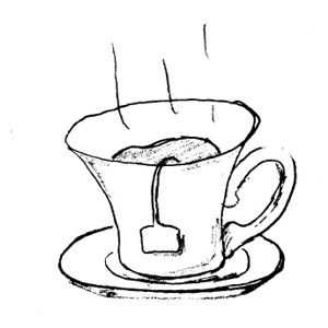 Free Tea Clipart Black And White, Download Free Clip Art.