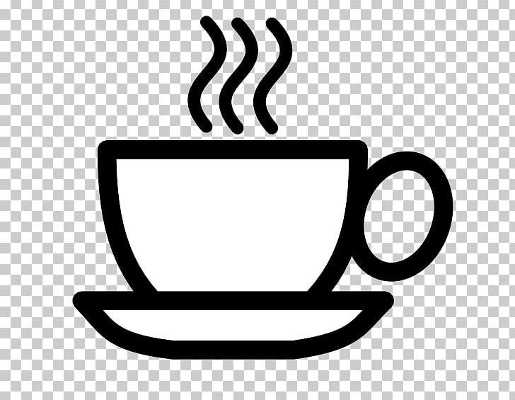 Coffee Cup Tea Cafe PNG, Clipart, Black And White, Cafe.