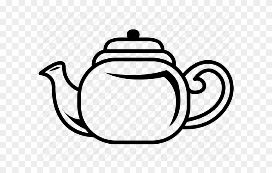 Teapot Clipart Hot Kettle.