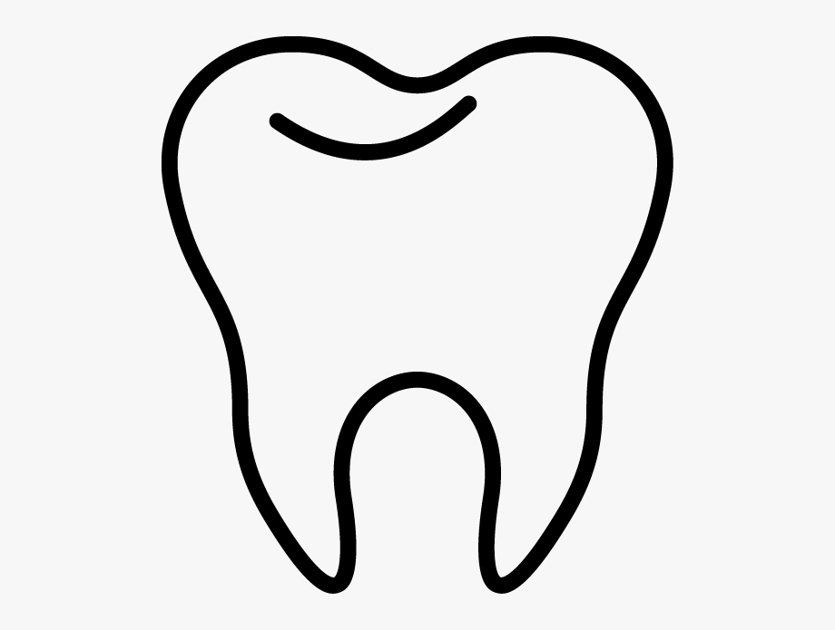 Tooth Clip Art Inderecami Drawing.