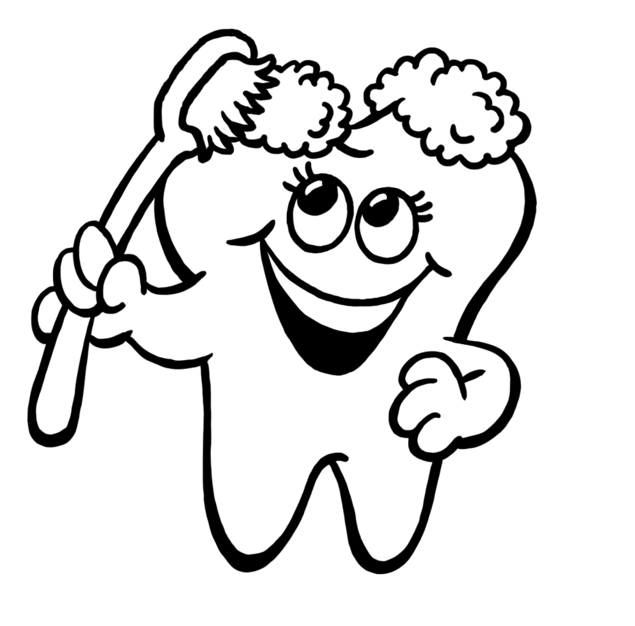 Free Teeth Clipart Black And White, Download Free Clip Art.