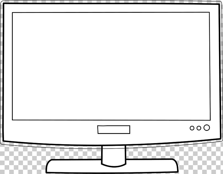 Television Black and white Cartoon , 1950s TV s PNG clipart.
