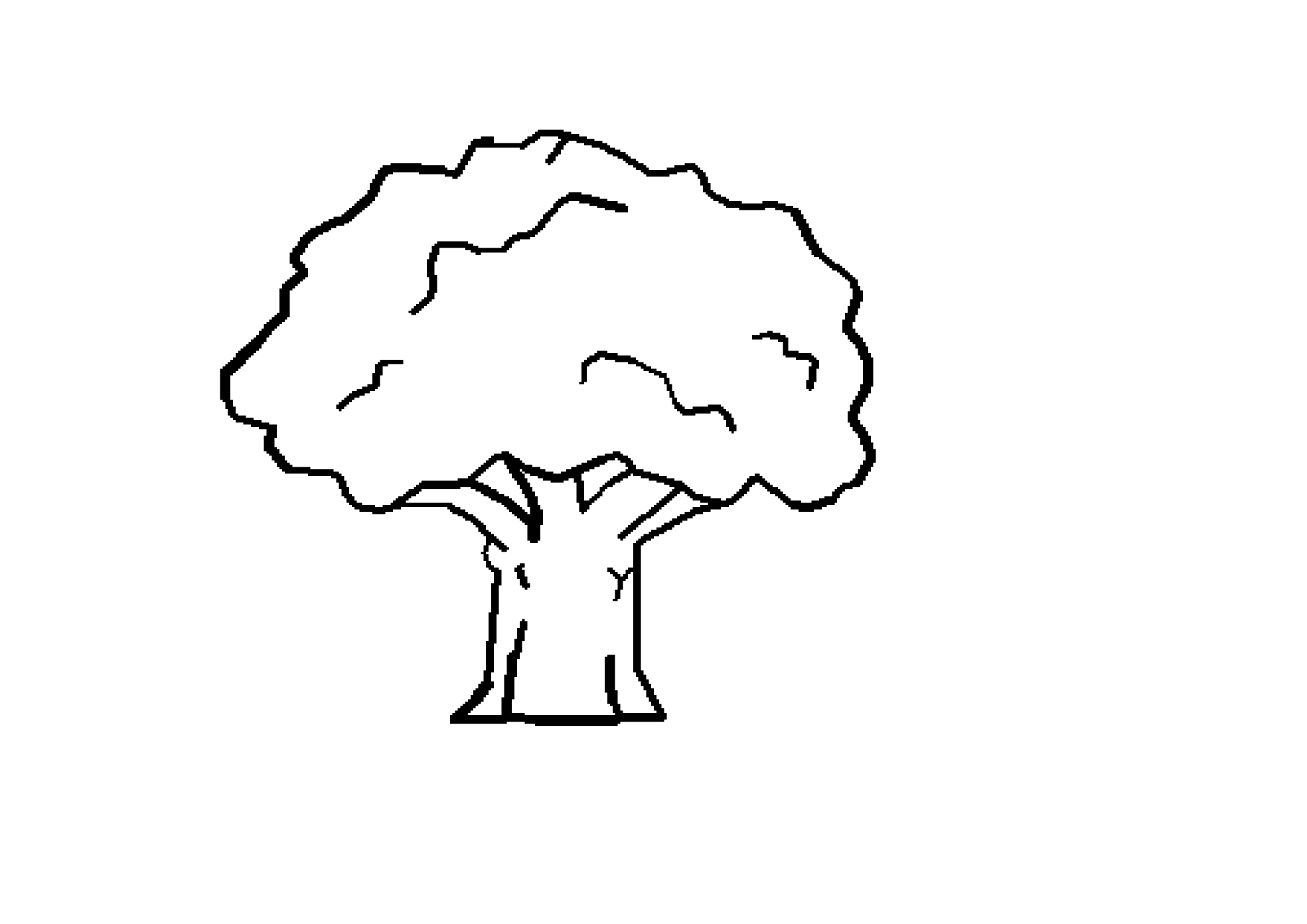 Free Tree Drawings Black And White, Download Free Clip Art.
