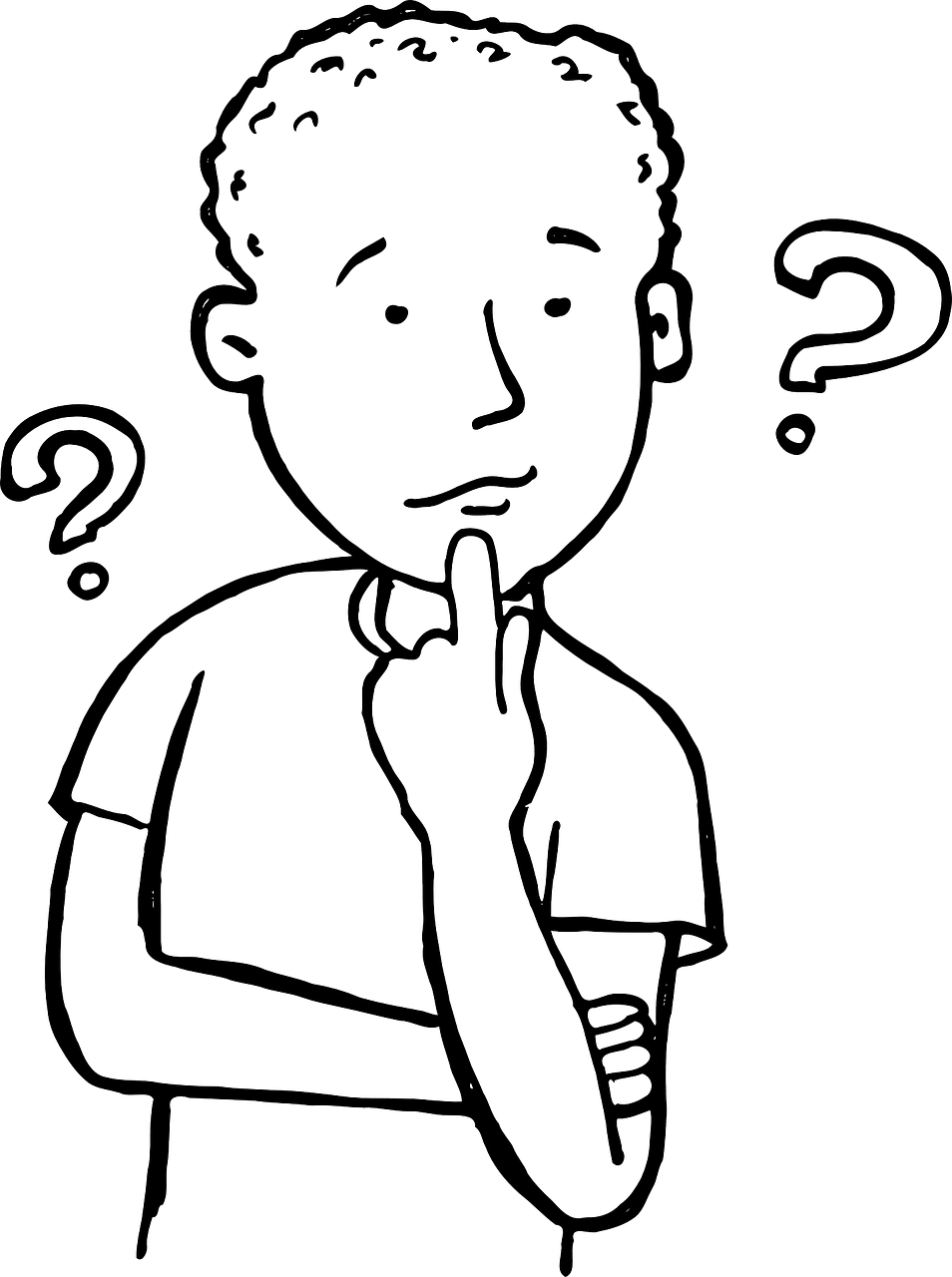 Free Thinking Clip Art Black And White, Download Free Clip.