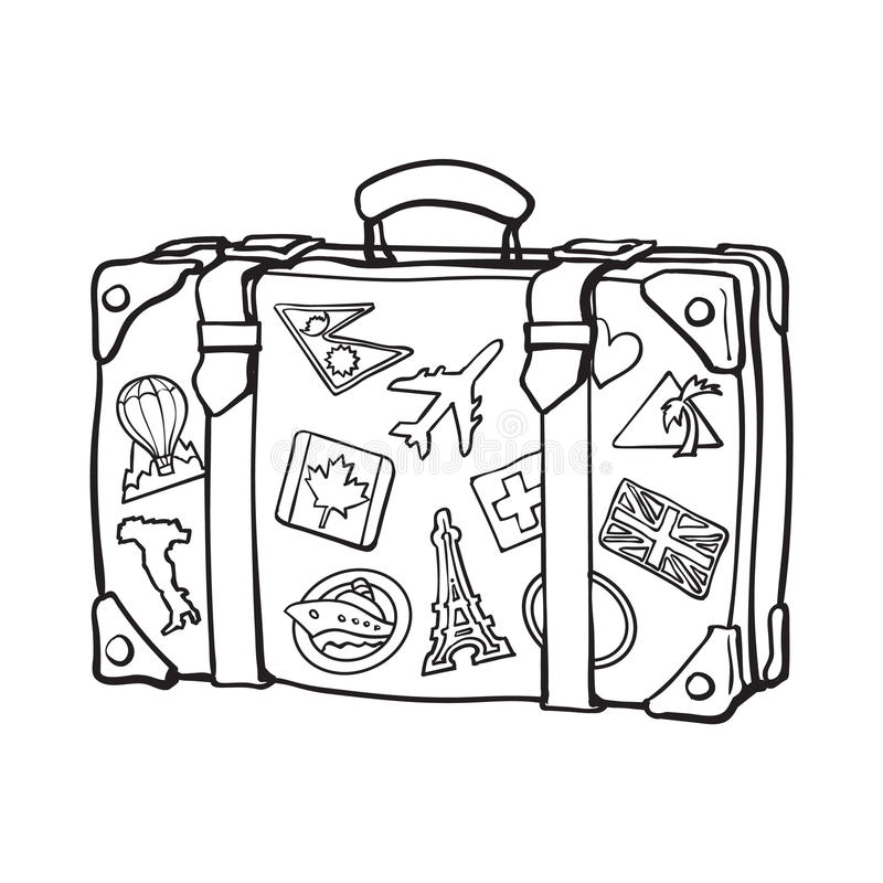 Travel black and white clipart 3 » Clipart Station.