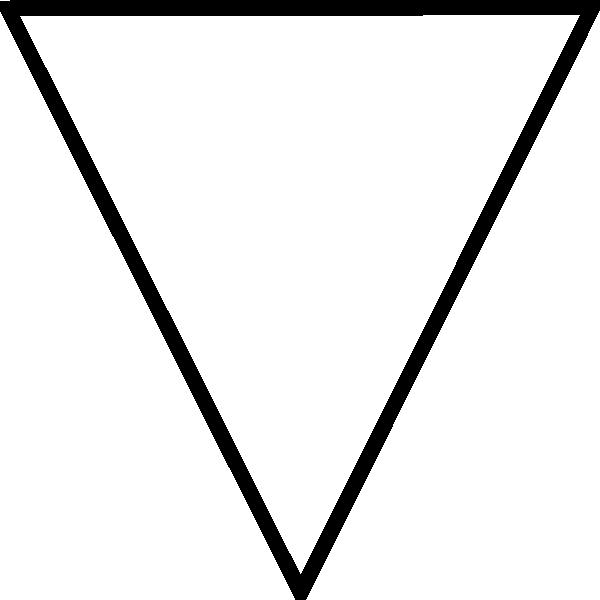Free Triangle Clip Art Black And White, Download Free Clip.