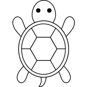 Turtles clipart black and white clipart.