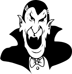 Free Vampire Clipart Black And White, Download Free Clip Art.