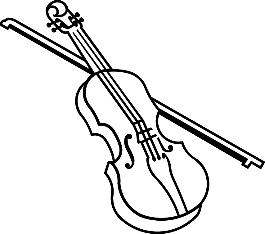 Fiddle Drawing Observational.
